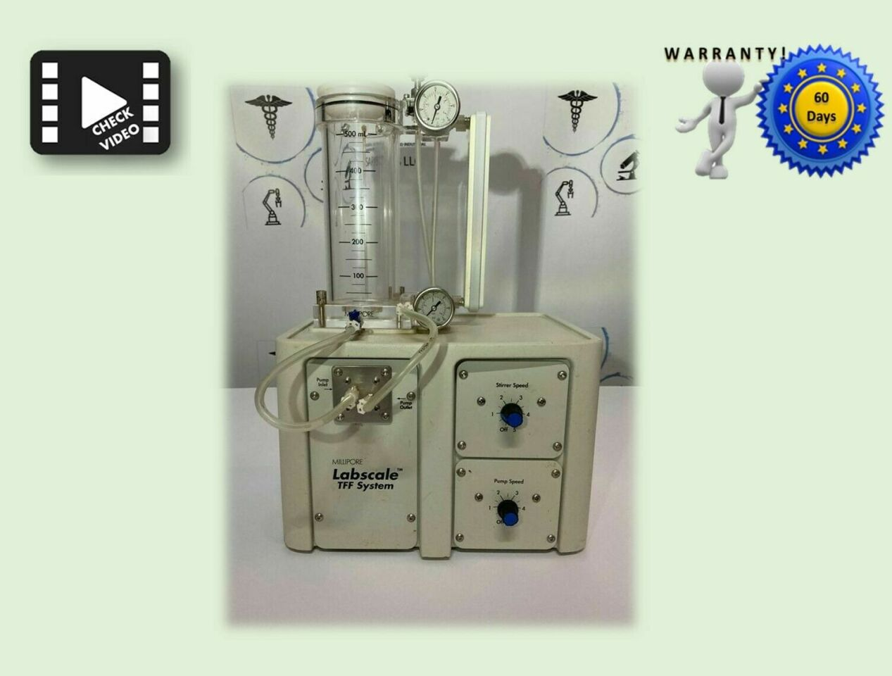 MILLIPORE LabScale 29751 TFF System