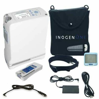 INOGEN ONE G4 w/double battery NEW Oxygen Concentrator