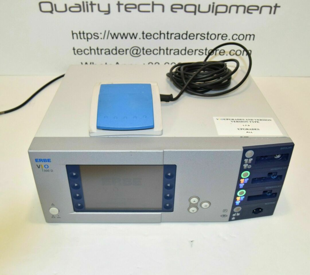 ERBE VIO 300D Electrosurgical with full options activated