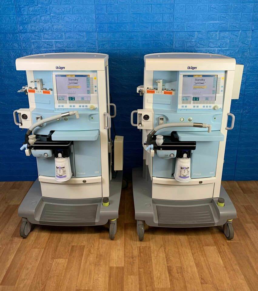DRAGER Primus INFINITY Empowered YOM 2010 Low hours - TESTED Anesthesia Machine