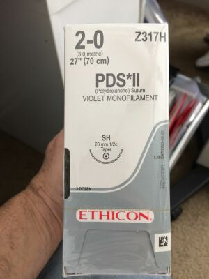 ETHICON 2-0 PDS*II Sutures