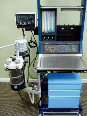 DATEX-OHMEDA Excel 210 Anesthesia Machine for sale