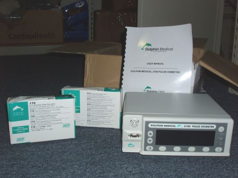 DOLPHIN MEDICAL 2100 Oximeter - Pulse for sale