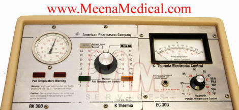 AMERICAN PHARMASEAL K-Thermia Patient Wa Heat Therapy Unit for sale