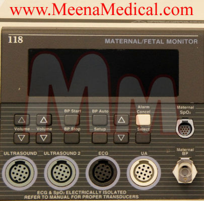 COROMETRICS 118 Fetal Neonatal Monitor for sale