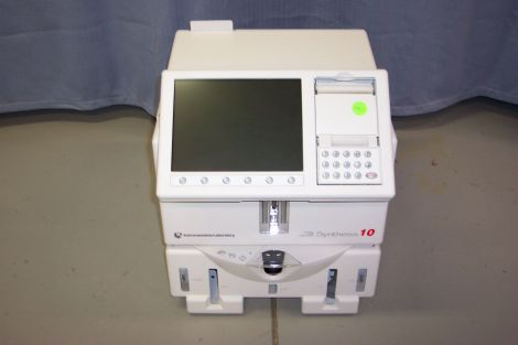 INSTRUMENTATION LABORATORY Synthesis 10 Blood Gas Analyzer for sale