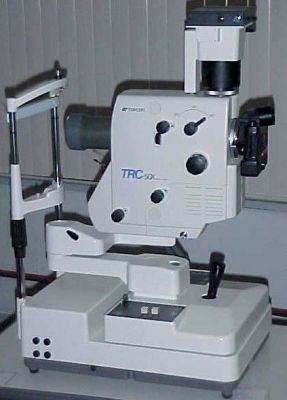 TOPCON TRC-50X Fundus Camera for sale