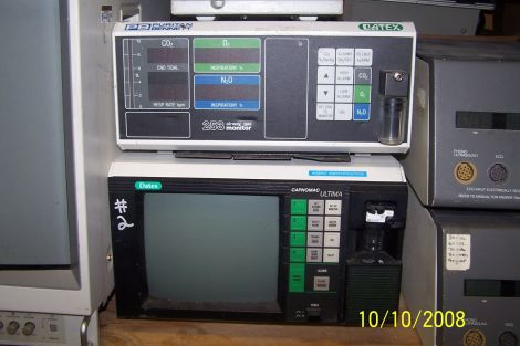 DATEX-OHMEDA 253/ultima Anesthesia Monitor for sale