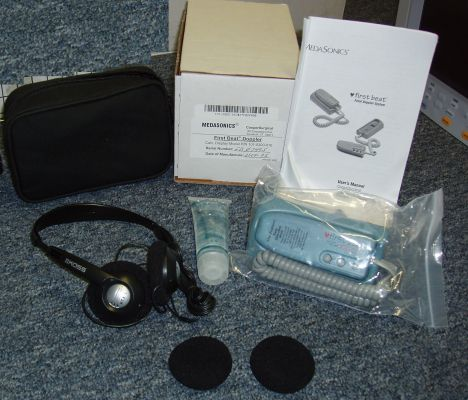 MEDASONICS First Beat Fetal Doopler - New!!! Neonatal Monitor for sale