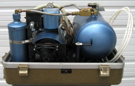 AIR TECHNIQUES M5-B Air Compressor for sale