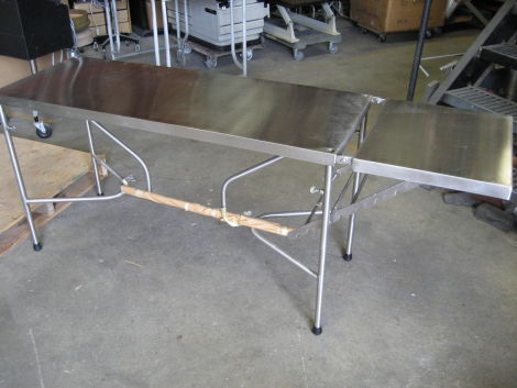 Back/Prep table Stainless Steel Items for sale