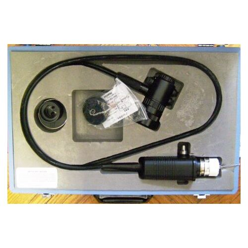 PENTAX PVA-1000 with AT-OF3 Fiberscope Adapter/Video Convertor and Case Endoscope for sale