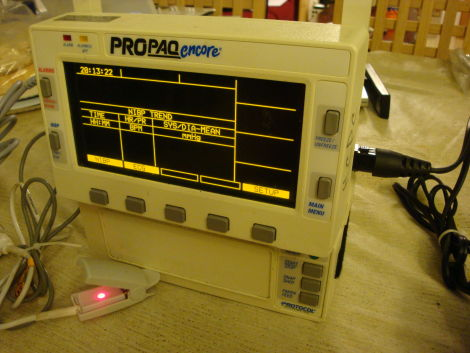 PROTOCOL SYSTEMS Propaq 202 Monitor for sale