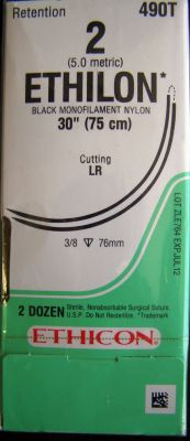 ETHICON 490T Sutures for sale