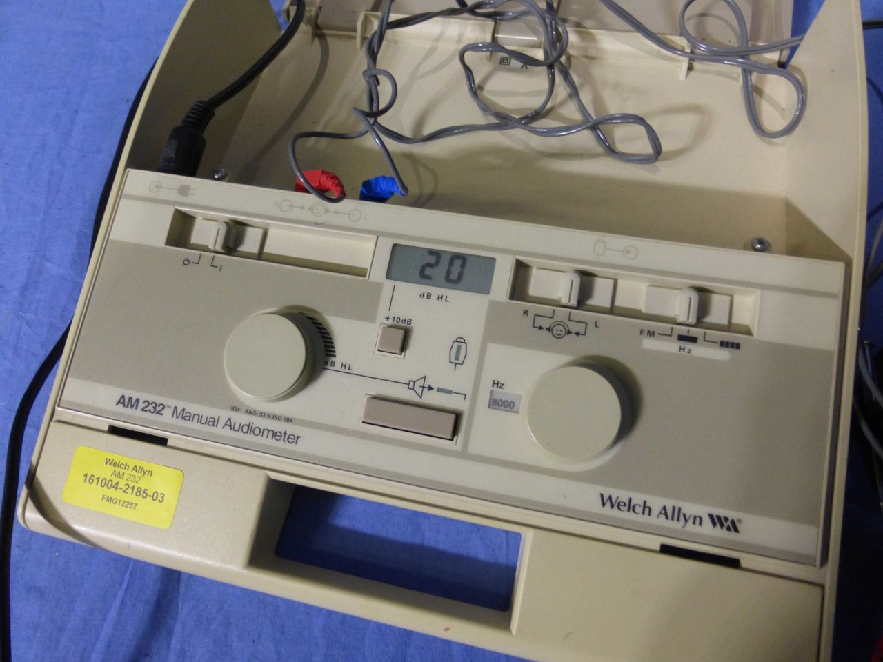 WELCH ALLYN AM 232 Audiometer for sale