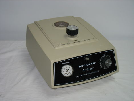 BECKMAN Air-Driven Ultra Centrifuge for sale