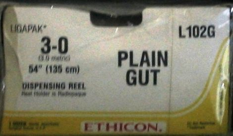 ETHICON L-102G Sutures for sale