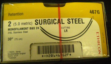 ETHICON 467G Sutures for sale