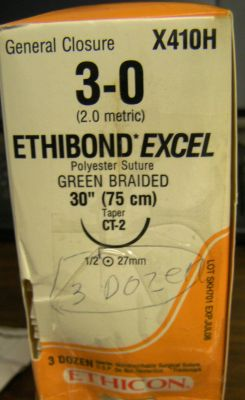 ETHICON X410H Sutures for sale