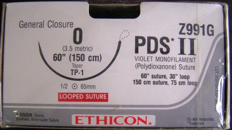 ETHICON Z991G Sutures for sale