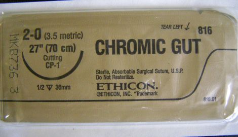 ETHICON 816 Sutures for sale