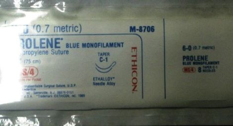 ETHICON M8706 Sutures for sale