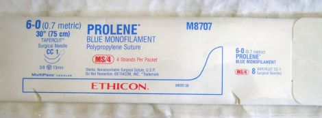 ETHICON M8707 Sutures for sale
