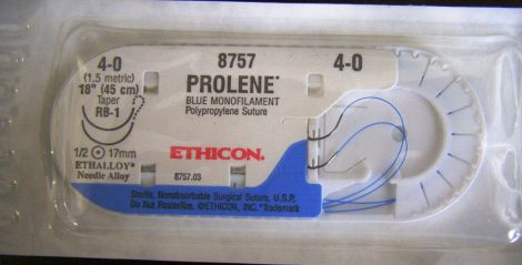 ETHICON 8757 Sutures for sale