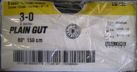 US SURGICAL LG-102 Sutures for sale