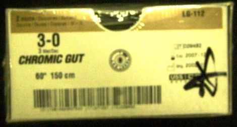 US SURGICAL LG-112 Sutures for sale
