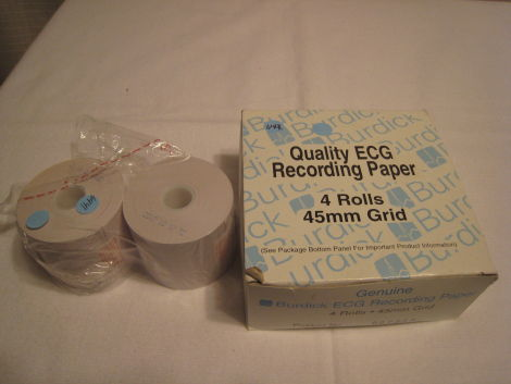 BURDICK ECG Recording Paper Printer Paper for sale