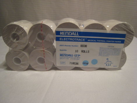 KENDALL #8038 Thermal Printer Paper for sale