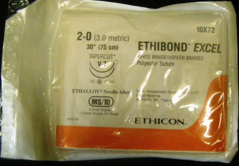 ETHICON 10X72 Sutures for sale