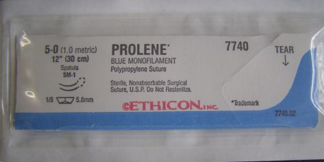 ETHICON 7740 Sutures for sale