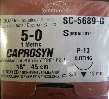 US SURGICAL Sc-5689G Sutures for sale