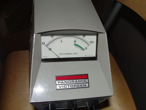 VICTOREEN 470A Radiation Meter for sale