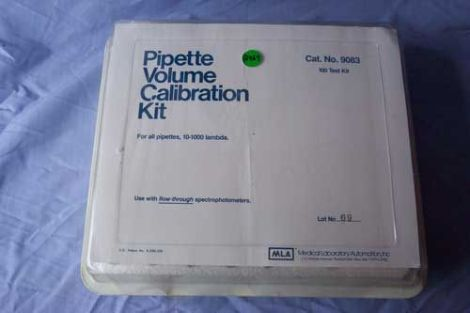 MLA Volume Calibration Kit 10-1000 Pipetter for sale