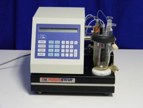 SCIENTIFIC INSTRUMENTS AquaStar Titrator Pipetter for sale
