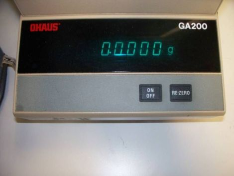 OHAUS GA200 Scale for sale