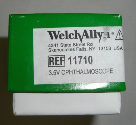 WELCH ALLYN 11710 Ophthalmoscope for sale