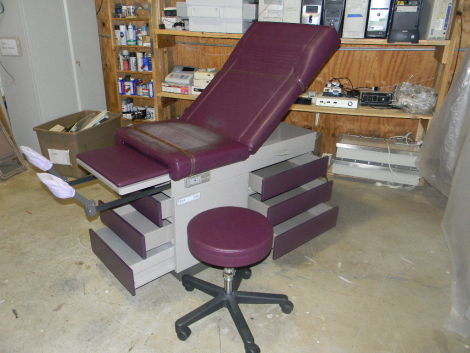 RITTER 104 Exam Table for sale
