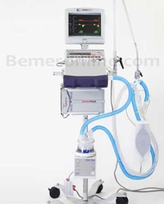PULMONETIC SYSTEMS LTV-1150 with LTM Ventilator for sale