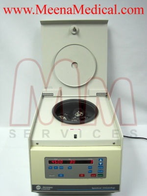 BECKMAN Coulter Spinchron 15 w/ S4180 Rotor Centrifuge for sale