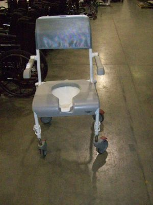 Used Invacare Medical Portable Adult Toilet Chair For Sale