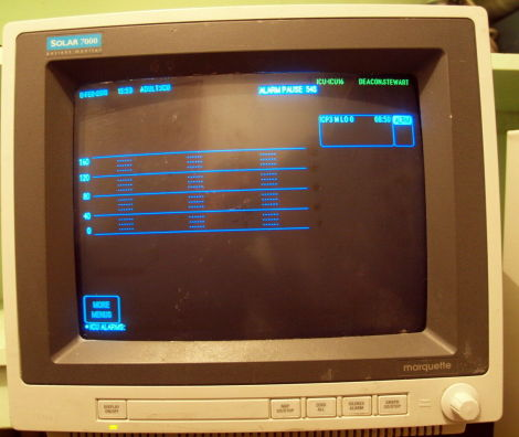 MARQUETTE Solar 7000 Patient Monitor for sale