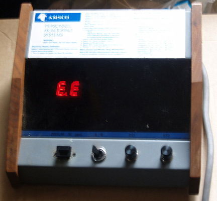 AMSCO E 805 EO monitor Sterilizer for sale