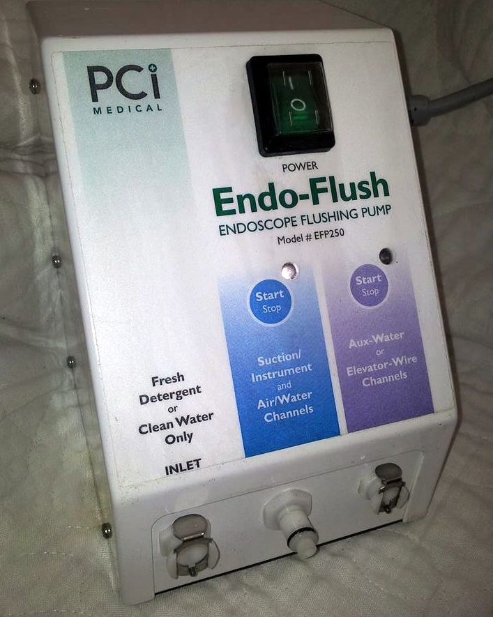 Endoscopy Processing Room: Olympus Endo-Flush Efp250 Endoscopy Processor